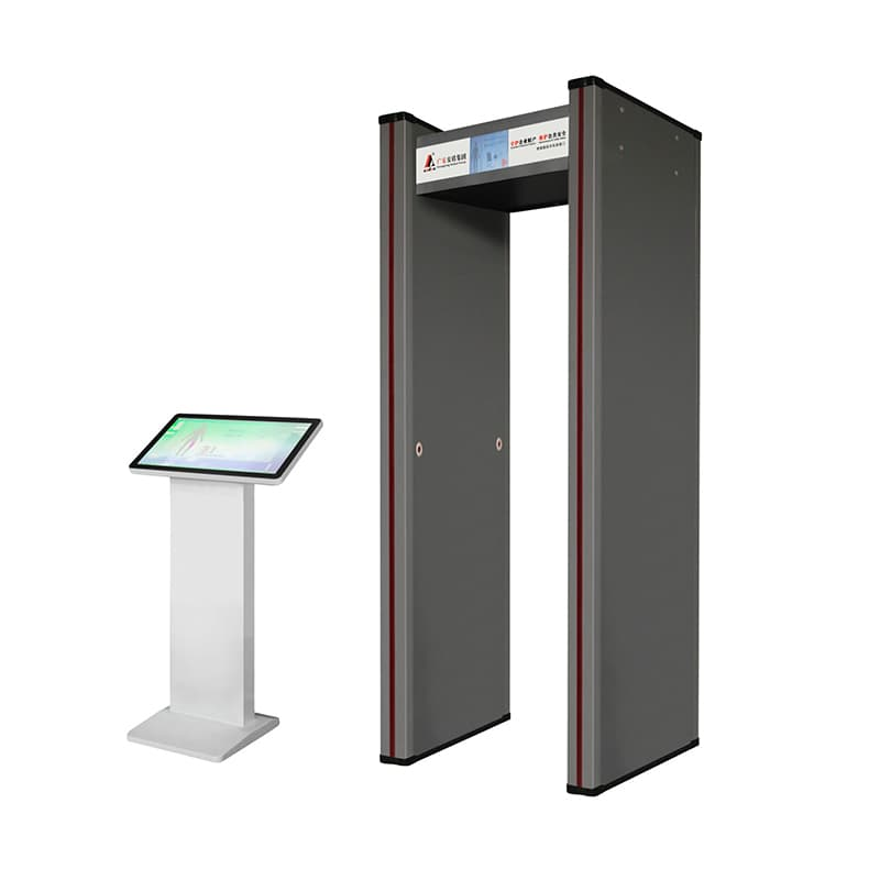 AD-2367 walk through metal detector for large passenger flow