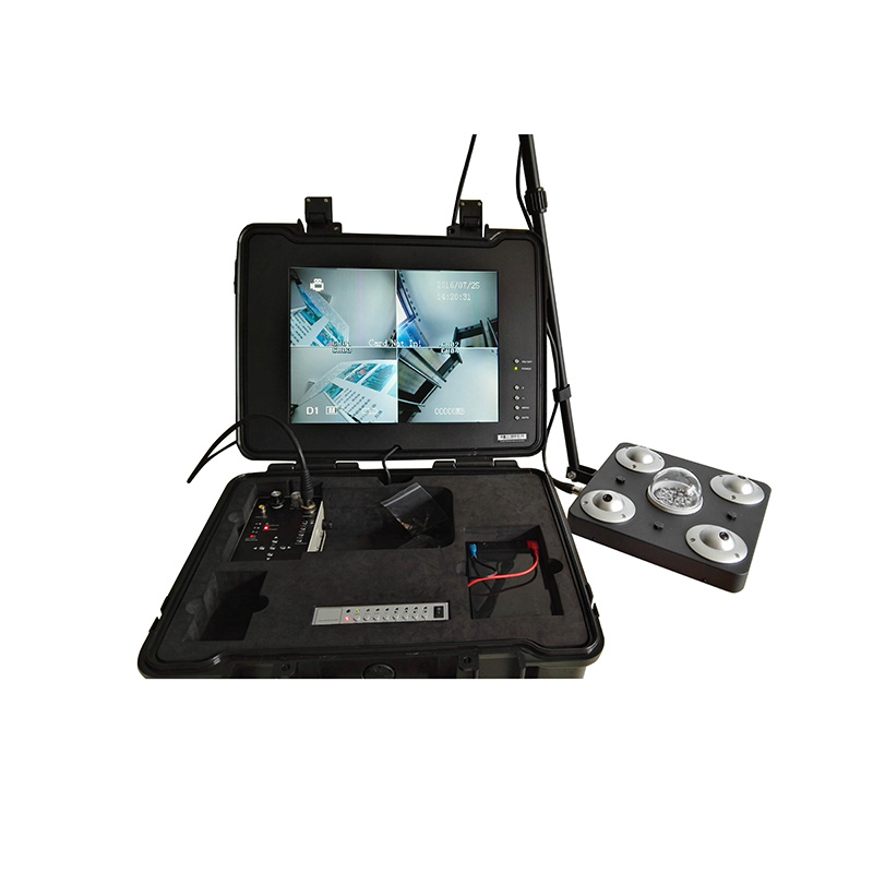 AD-UVS2 Four-Way Camera Video Vehicle Bottom Inspection Instrument