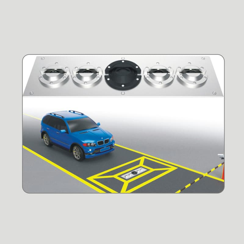AD-UVSS-I Buried Type Vehicle Chassis Safety Inspection System