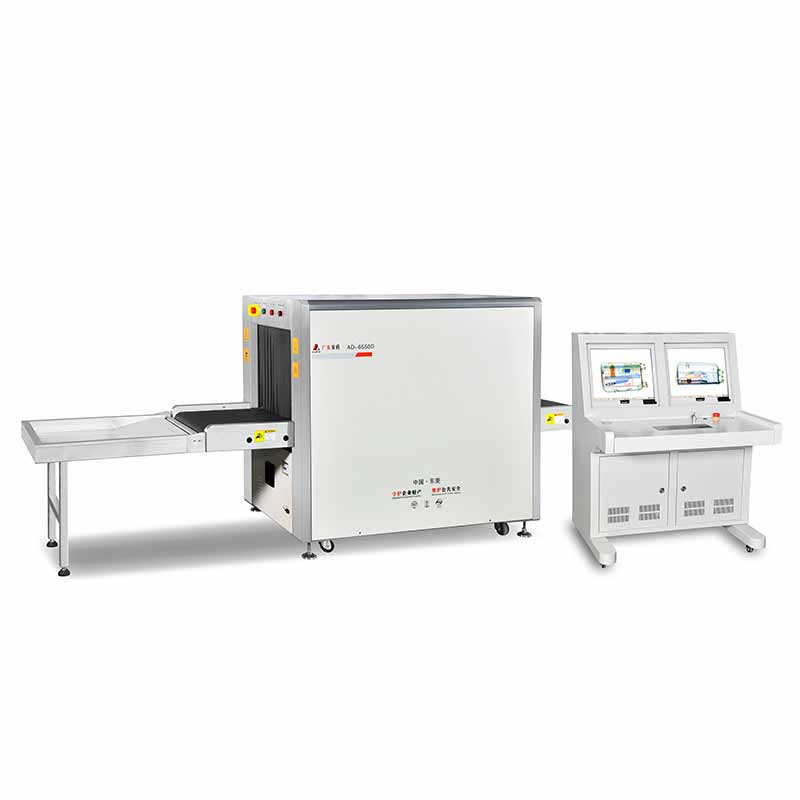 AD-6550D X-ray baggage scanner (double viewing angle)